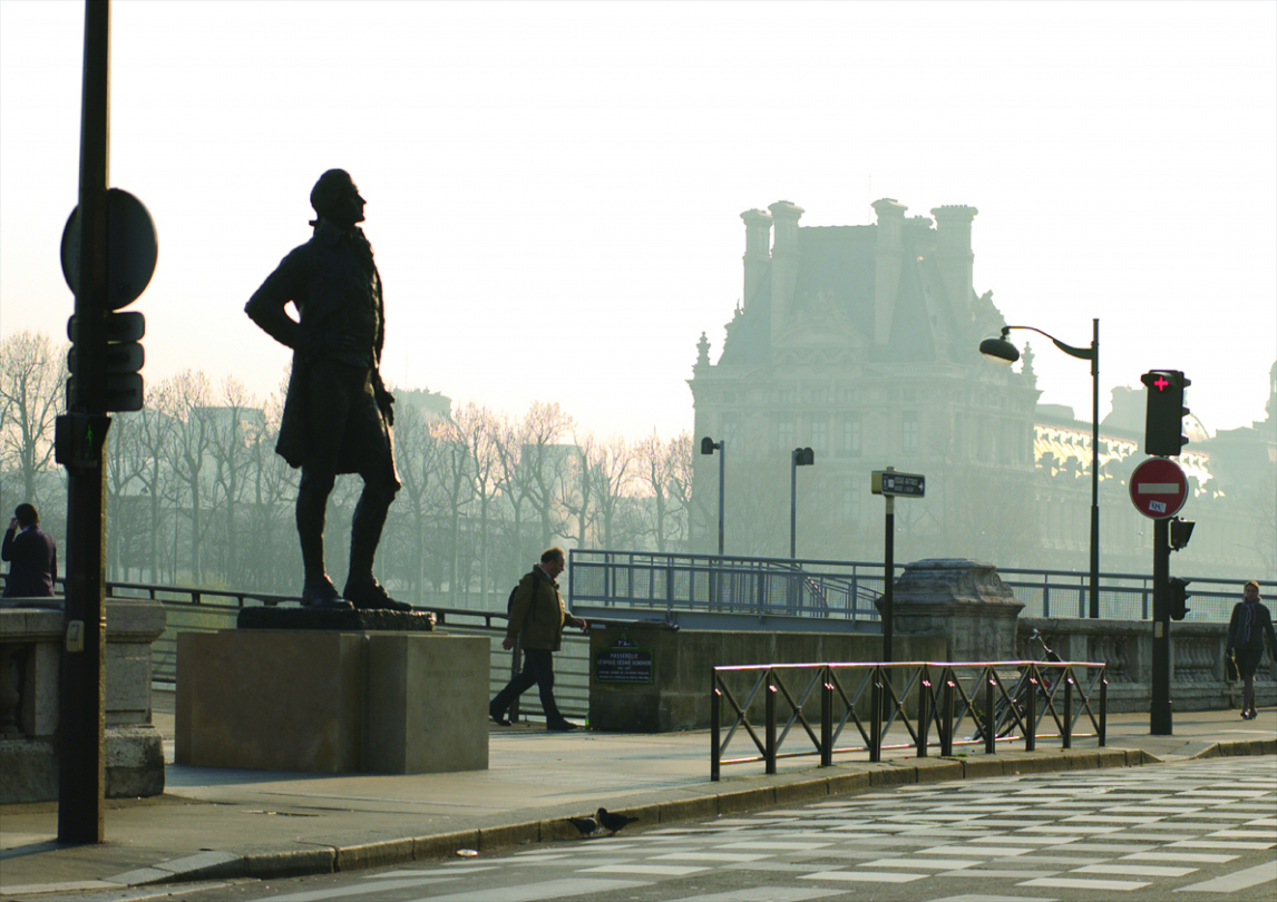 Monument à Thomas Jefferson, Paris (Photo Pascal Borie)